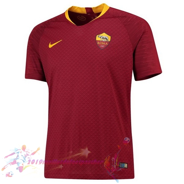 Maillot De Foot Pas Cher Nike Domicile Maillots As Roma 2018 2019 Rouge