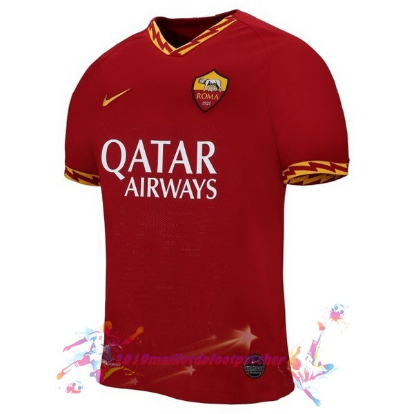 Maillot De Foot Pas Cher Nike Domicile Maillot As Roma 2019 2020 Rouge