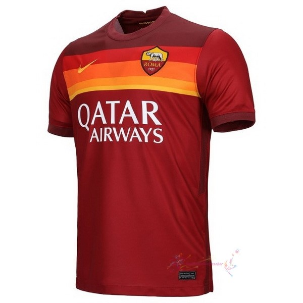 Maillot De Foot Pas Cher Nike Domicile Maillot As Roma 2020 2021 Rouge