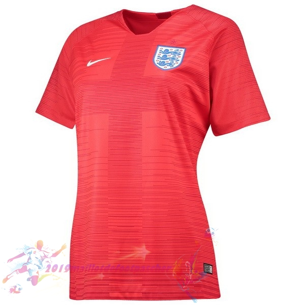 Maillot De Foot Pas Cher Nike Exterieur Maillots Femme Angleterre 2018 Rouge