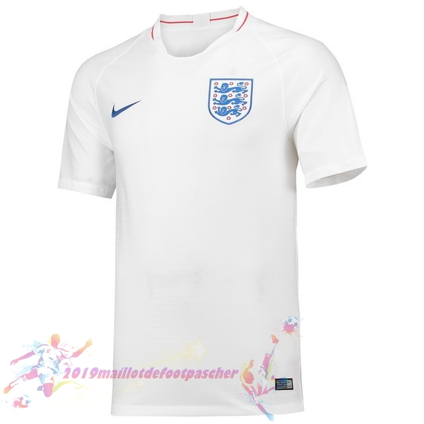 Maillot De Foot Pas Cher Nike Domicile Maillots Angleterre 2018 Blanc