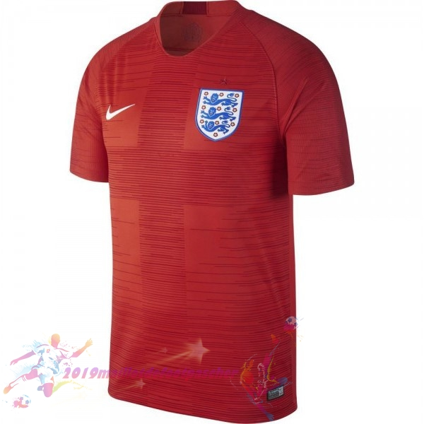 Maillot De Foot Pas Cher Nike Exterieur Maillots Angleterre 2018 Rouge