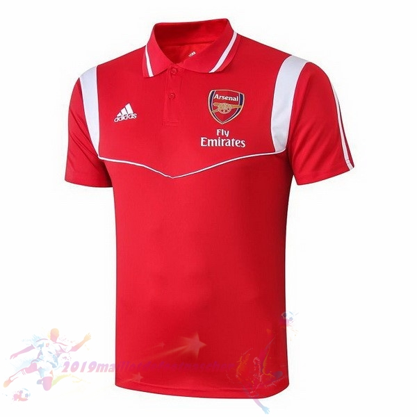 Maillot De Foot Pas Cher adidas Polo Arsenal 2019 2020 Rouge Blanc