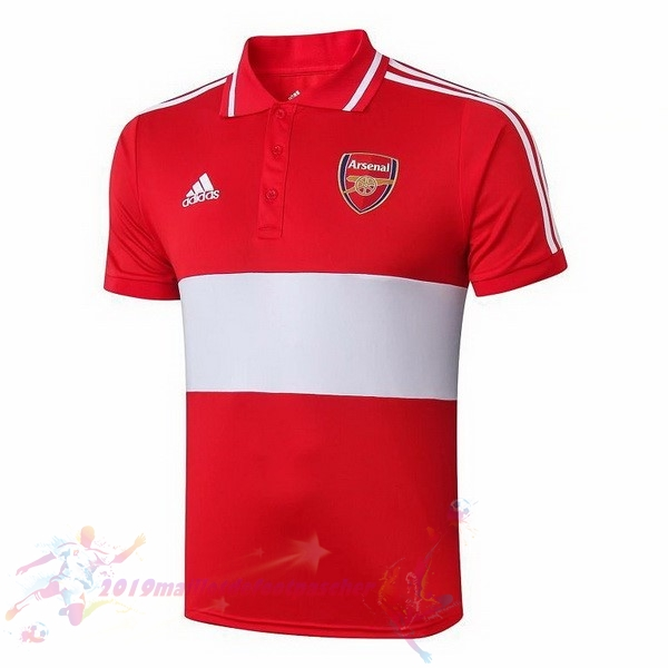 Maillot De Foot Pas Cher adidas Polo Arsenal 2019 2020 Rouge Gris