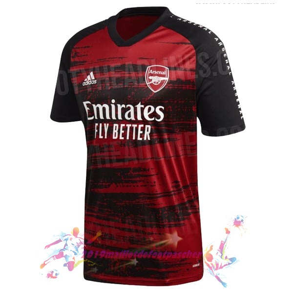 Maillot De Foot Pas Cher adidas Pre Match Maillot Arsenal 2020 2021 Rouge