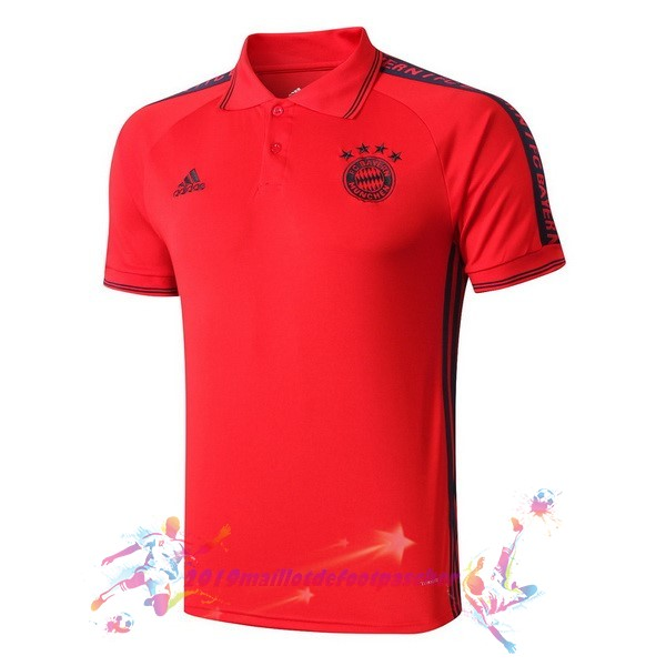 Maillot De Foot Pas Cher adidas Polo Bayern Munich 2019 2020 Rouge