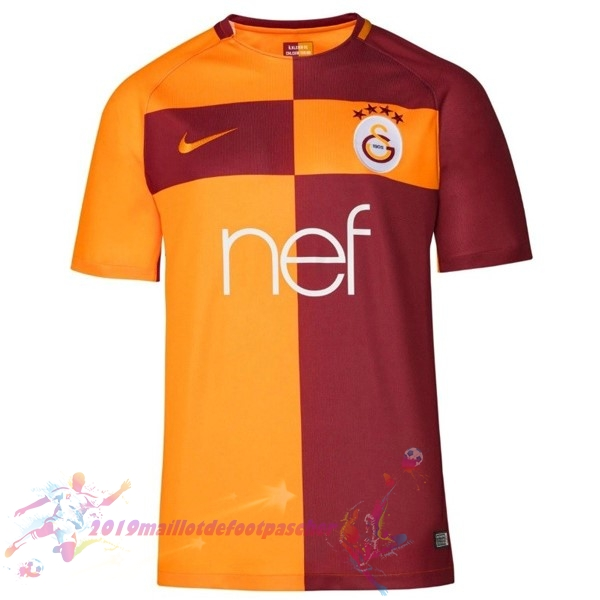 Maillot De Foot Pas Cher Nike Domicile Maillots Galatasaray SK 2017 2018 Orange