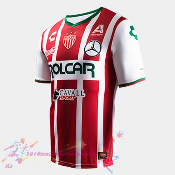 Maillot De Foot Pas Cher Tenis Charly Domicile Maillots Club Necaxa 2017 2018 Rouge