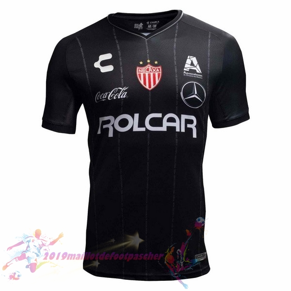 Maillot De Foot Pas Cher Tenis Charly Exterieur Maillots Club Necaxa 2018-2019 Noir