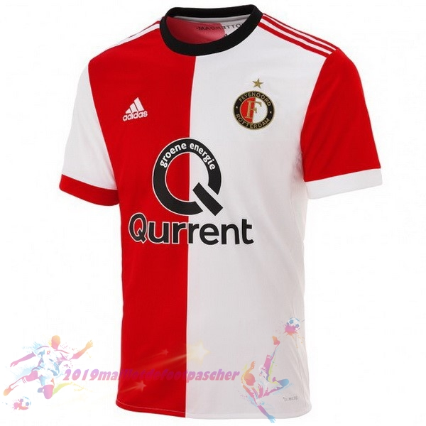 Maillot De Foot Pas Cher adidas Domicile Maillots Feyenoord Rotterdam 2017 2018 Rouge