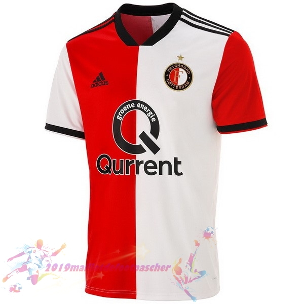Maillot De Foot Pas Cher adidas Domicile Maillots Feyenoord Rotterdam 2018-2019 Rouge