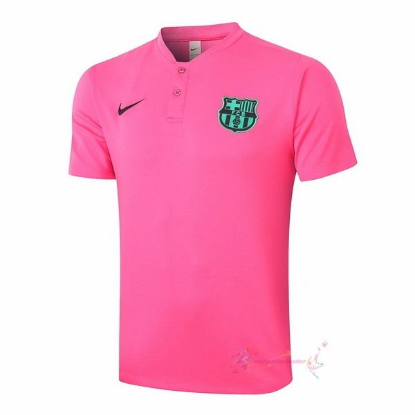 Maillot De Foot Pas Cher Nike Polo Barcelone 2020 2021 Rose