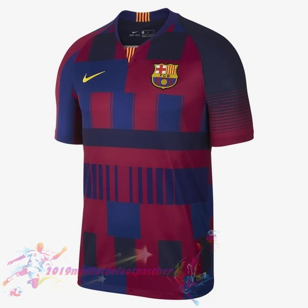 Maillot De Foot Pas Cher Nike Maillots Barcelona 20th Bleu Rouge