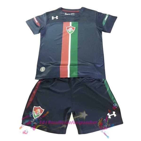 Maillot De Foot Pas Cher Under Armour Third Ensemble Enfant Fluminense 2019 2020 Noir