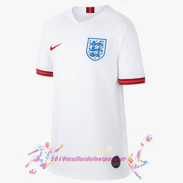 Maillot De Foot Pas Cher Nike Domicile Maillot Femme Angleterre 2019 Blanc