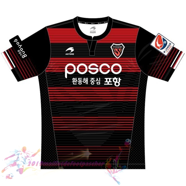 Maillot De Foot Pas Cher Astore Domicile Maillots Pohang Steelers 2017 2018 Rouge