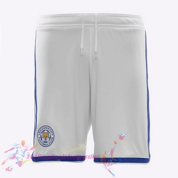 Maillot De Foot Pas Cher adidas Third Shorts Leicester City 2018-2019 Blanc