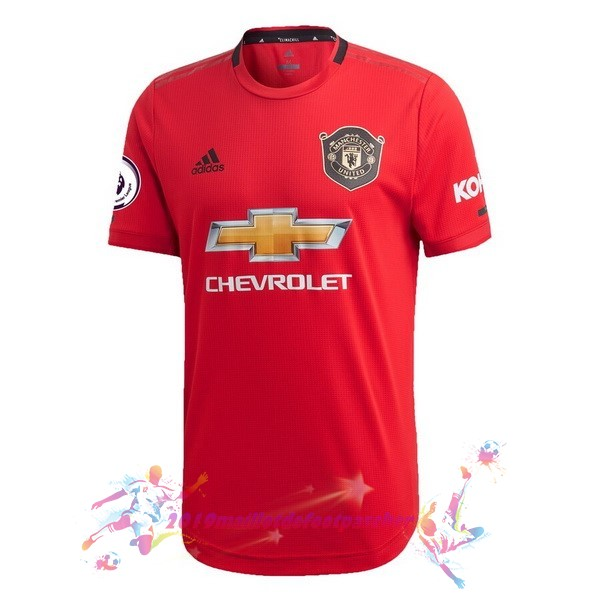 Maillot De Foot Pas Cher adidas Domicile Maillot Manchester United 2019 2020 Rouge