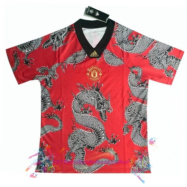Maillot De Foot Pas Cher adidas Spécial Maillot Manchester United 2019 2020 Rouge