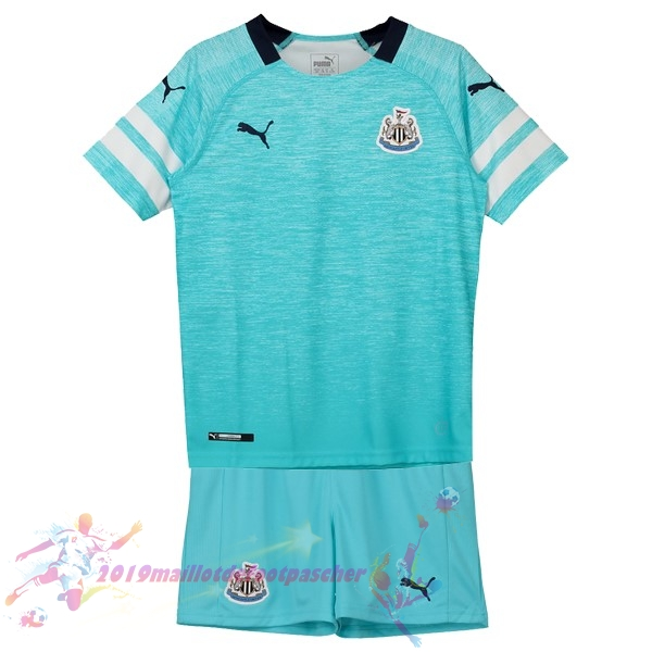 Maillot De Foot Pas Cher PUMA Third Ensemble Enfant Newcastle United 2018-2019 Bleu