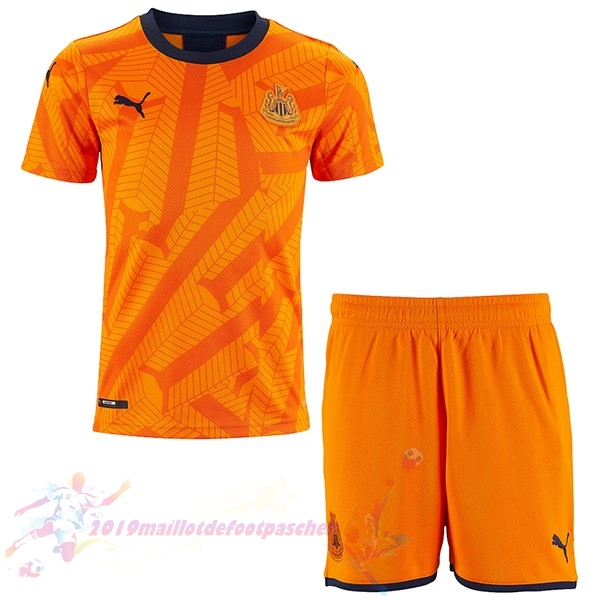 Maillot De Foot Pas Cher Puma Third Ensemble Enfant Newcastle United 2019 2020 Orange