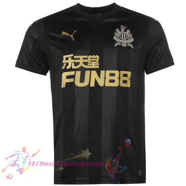 Maillot De Foot Pas Cher PUMA Third Maillots Newcastle United 2017 2018 Noir