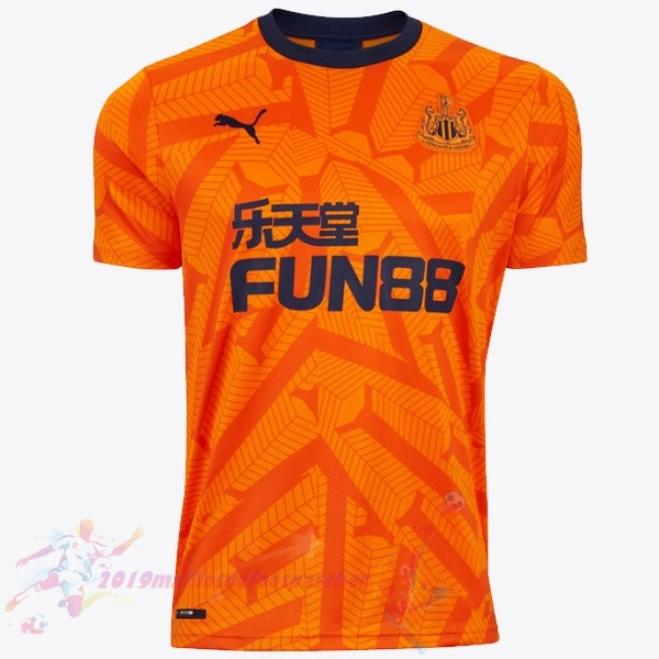 Maillot De Foot Pas Cher Puma Third Maillot Newcastle United 2019 2020 Orange