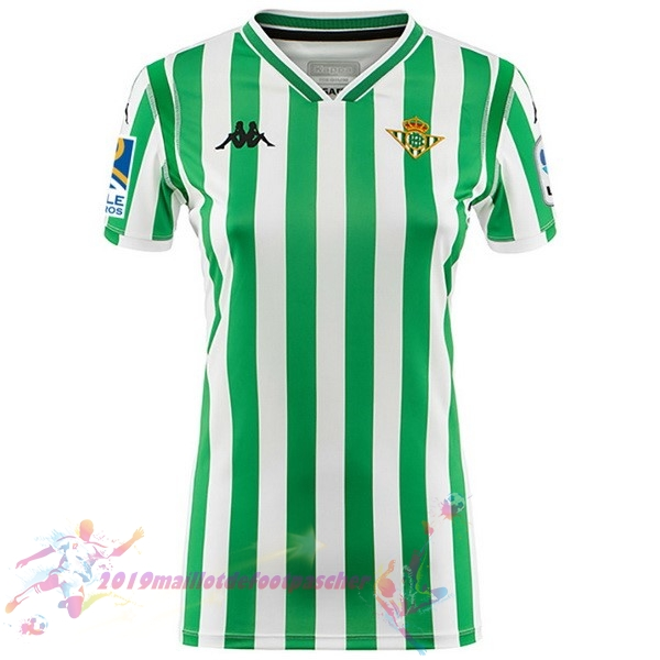 Maillot De Foot Pas Cher Kappa Domicile Maillots Femme Real Betis 2018-2019 Vert
