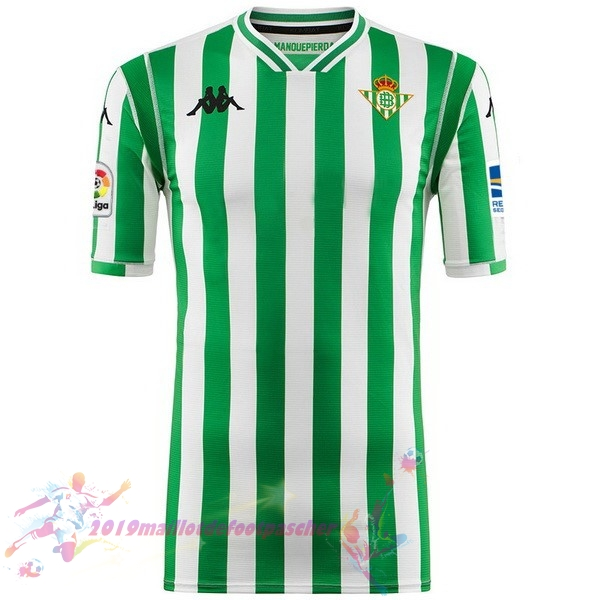 Maillot De Foot Pas Cher Kappa Domicile Maillots Real Betis 2018-2019 Vert