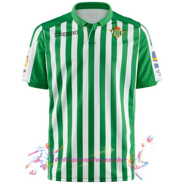 Maillot De Foot Pas Cher Kappa Domicile Maillot Real Betis 2019 2020 Vert