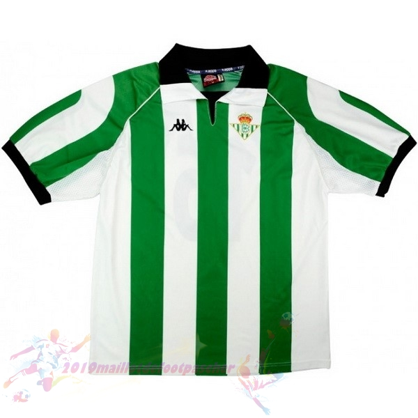 Maillot De Foot Pas Cher Kappa Maillot Real Betis Retro 1998 1999 Vert