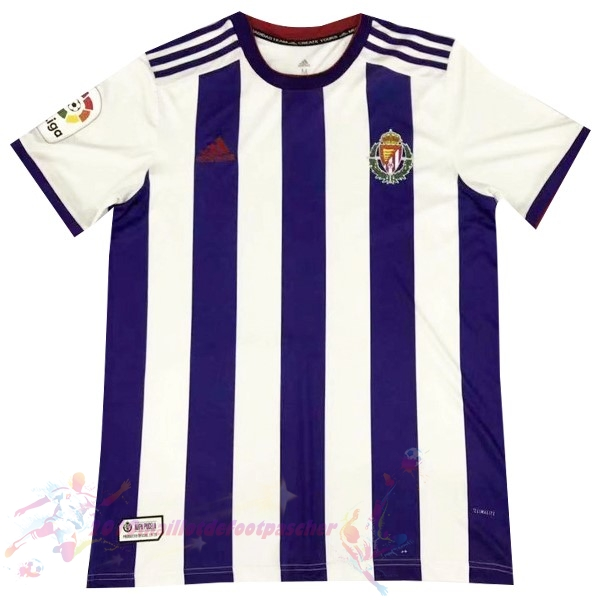 Maillot De Foot Pas Cher adidas Domicile Maillot Real Valladolid 2019 2020 Purpura