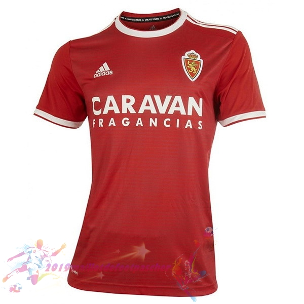Maillot De Foot Pas Cher adidas Exterieur Maillots Real Zaragoza 18-19 Rouge