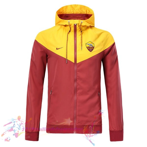 Maillot De Foot Pas Cher Nike Coupe Vent AS Roma 2018-2019 Rouge