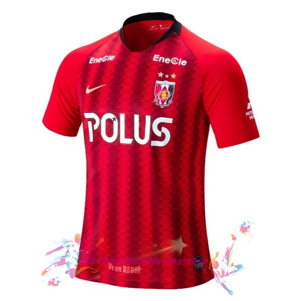 Maillot De Foot Pas Cher Nike Domicile Maillot Urawa Red Diamonds 2019 2020 Rouge